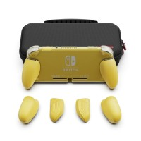 Nintendo Switch Lite Skull & Co. Maxcarry Grip Case Yellow / Storage