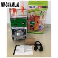 Cup Sealer Mesin Press Gelas WILLMAN WM-D8 GARANSI RESMI 1 TAHUN