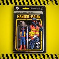 OPEN PO The Mandor Harian - The Collectible Figure