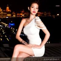 White Dress Import 16416