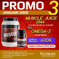 Muscle Juice (Rasa Vanilla), 4.96 lbs - Ultimate Nutrition Official