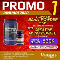 BCAA FLAVORED POWDER, 475gr Orange - ULTIMATE NUTRITION.