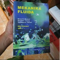 Mekanika Fluida edisi keempat 4 jilid 1 Bruce R Munson