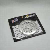 Zelioni Cover Fan Silver Vespa Sprint Primavera LX S LXV