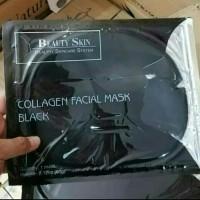 BEAUTY SKIN Collagen Facial Mask Black BPOM Original