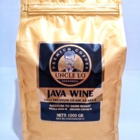 BIJI KOPI - COFFEE - KOPI -- ARABICA JAVA WINE 1000 GR - SINGLE ORI