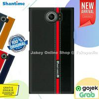 Vintage Leather Back Cover Case BB Priv Blackberry Priv casing hp