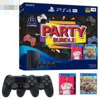 PS4 Pro 1TB Black Party Bundle