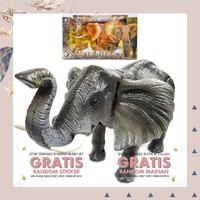 MAINAN ANAK ROBOT GAJAH BESAR ELEPHANT BINATANG ROBOT EDUKASI