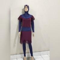 baju renang muslimah wanita dewasa dan remaja kerudung panjang