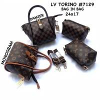 Tas wanita cewek branded LV torino mini model sekarang bagus murah