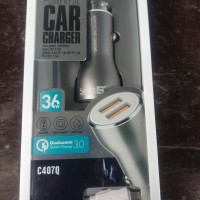SECRET G C407Q CAR Charger QUICK CHARGER 3.0 Casan mobil USB ORI