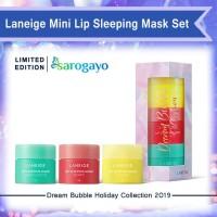 [Sarogayo] READY Laneige Dream Bubble Holiday Mini Lip Sleeping Set