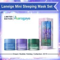 [Sarogayo] READY STOCK Laneige Dream Bubble Holiday Mini Sleeping Mask