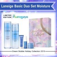 [Sarogayo] READY Laneige Dream Bubble Holiday Basic Duo Set Moisture