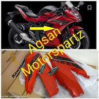 Fairing atas ninja rr mono 250 SL merah Original Kawasaki