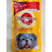 Makanan Anjing Pedigree Basah 130 g/Pedigree 130 gr