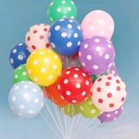 Balon Polkadot 1 Kalender Isi 50 Balon Warna : Merah Hijau Tua H