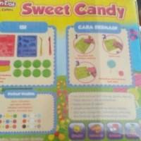 HOT SALE.!!! play dough fun doh sweet candy terjamin