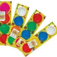 HOT SALE.!!! Isi Fun Doh - Playdough - Lilin Mainan 4pcs terjamin