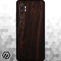[EXACOAT] Mi Note 10 3M Skin / Garskin - Wood Mahogany