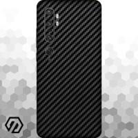 [EXACOAT] Mi Note 10 3M Skin / Garskin - Carbon Fiber Black