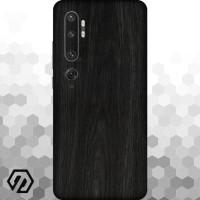 [EXACOAT] Mi Note 10 3M Skin / Garskin - Wood Ebony