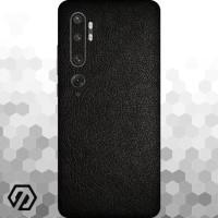 [EXACOAT] Mi Note 10 3M Skin / Garskin - Leather Black