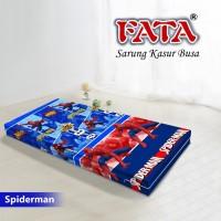 FATA SARUNG KASUR BUSA ANAK KARTUN SPIDERMAN 120X200