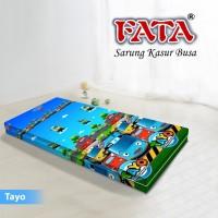 FATA SARUNG KASUR BUSA ANAK KARTUN TAYO 120X200