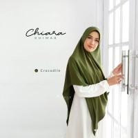 AMILY CHIARA KHIMAR CROCODILE Madame Pretty Import Khimar Basic Daily