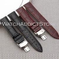 Strap Apple Watch iWatch IWO Leather Chrocodile Buckle Modern 44 42 38