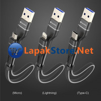 Snap Cable High Speed Fast Charging with Smart Chip Lapakstore