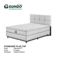 Promo Spring Bed Guhdo Standard Plush Top 100x200 HB Caserta Full Set