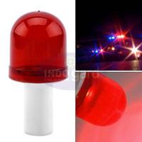 Warning Light, Lampu Kerucut Jalan Traffic Cone, Rotary - Biru