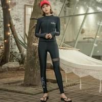 swimsuit / baju renang / long sleeve rash guard wanita A623