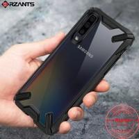 Case Samsung Galaxy A50 Rzants Armor Soft Case Clear Hardcase Original