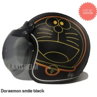 HELM BOGO DORAEMON CG BLACK NEW
