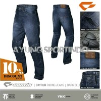 Celana Touring Biker ( Riding Pants ) Contin Dayrun Denim Jeans Ori