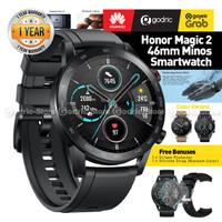 (GRS RESMI) HUAWEI HONOR MAGIC 2 MINOS Smartwatch AMOLED WR GPS GLOBAL