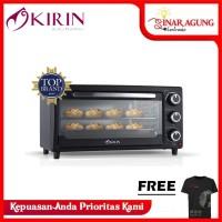 Kirin Oven KBO-160 Beauty Oven KBO160 16 Liter HITAM GARANSI RESMI)
