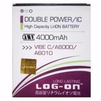baterai lenovo a6000 vibe c a6010 double power