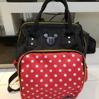 Diaper Bag Polkadot Model Minnie Mouse