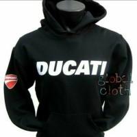 Hoodie Jumper Jaket Tudung Bomber Ducati Corse Black