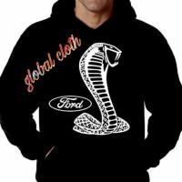 Hoodie Baju Hangat Kaos Baju Tshirt Ford Mustang Sport Jaket Zipper