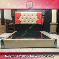 Divan ELMI Diamond Murah - Minimalis - Modern - Elegan   Cream Red