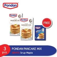Pondan Pancake Pouch GRATIS Sirup Maple