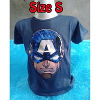 Baju Led Superhero Kaos Anak Nyala