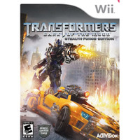 Game / Kaset Nintendo Wii Transformers Dark Of The Moon - Stealth Forc