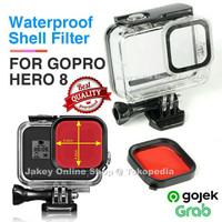 Underwater Diving Filter for Waterproof Case GoPro Hero 8 Black